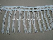 decorative tassel fringe for curtain