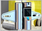 Double digital fingerprint glass door electric lock