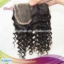 Wholesale Stock Best Quality Human Hair Lace Closure Unprocessed Brazilian Hair Closure