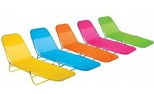 PE Wicker Sun Lounger Double Bed/ Beach Chair by PE Rattan