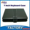 """Colores 7"""" tableta pulgadas teclado funda de cuero, de la pu de plástico usb midi cable para el teclado"""