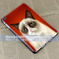 cat blue hard case cover for apple ipad mini