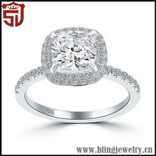 Fashionable New Coming Sterling Silver Wedding Band Rings Sets