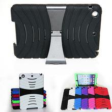 Heavy Duty Extreme Duty Kickstand Combo Case For Apple iPad Mini