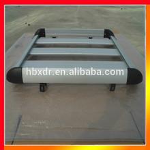 Anodized powder coated sand blasting aluminum roof rack for car