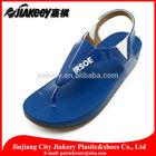 Luxury UK PU sole toning flip flop sports sandal for women branded