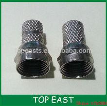 f male twin on RG58 RG9 RG6 RG7 RG11 connector good quality