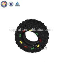 Elegentpet Wholesale Rubber Dog Toy / Rubber Tires Pet Toy For Dog