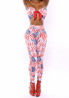 high quality jumpsuit 2014 Hot Sleeveless Stars and Stripes Print Rompers umpsuit overalls for women playsuitsJH-DR-752
