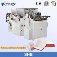 SHB Automatic hamburger box forming machine