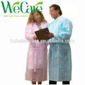 Enfermeira vestido de isolamento descartável de não-tecidos vestido de isolamento sms descartáveis vestido de isolamento