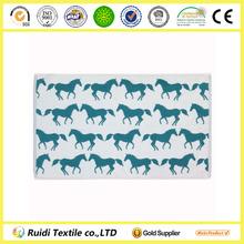 100% Cotton Kissing Horses/Rabbits/Stags/Squirrels Bath Mat/Towel