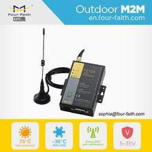 F2103 industrial m2m rs232 GSM GPRS plc modem communication