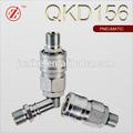 ss tubo de cilindro neumático componente de la cabeza