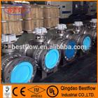 Metal hard seal ball valve High Pressure