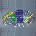 Popular más barato bolsa de plástico transparente para edredones/cobijas