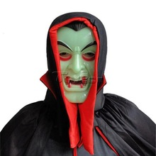 Hot-selling Novelty Items Vampire Mask Funny Costume Scary Overhead Latex Mask For Carnival