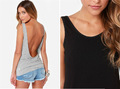 2014 mujeres backless atractivo de la blusa, A prueba de balas chaleco precios