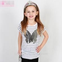 C11663C High quality Summer Fashion Stripes Children's T-shirts