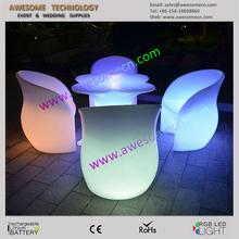 lounge chair for bars/ bar lounge chair/led chair