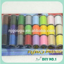 history of sewing nylon thread