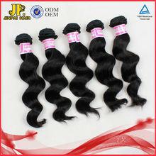 JP Hair Full Cuticle Good Quality Loose Wave Virgin Brazilian Black Star Hair Weave