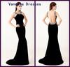 Wholesale Price Sexy Backless Sheath Brilliant Rhinestone Turkish Evening Dresses