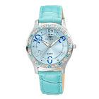 9243 Fashion diamond watch genuine leather watch strap