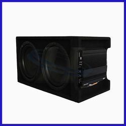 best car powered subwoofer/car
