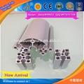 Construcción de aluminio de extrusión perfil proveedor/de aluminio precio por kilo para perfil de aluminioindustrial