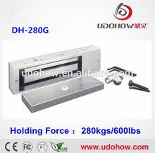 2014 the latest cheap 600 lbs electromagnetic lock for wooden doors,glass doors,metaldoors,fireproof doors(DH-280G)