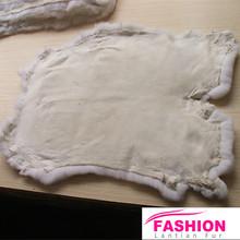 2015 Fine production Rex Rabbit Fur Skins for plate, for Garment