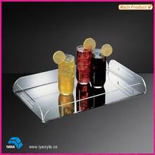 High End Transparent Acrylic Amenity Tray
