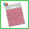 Yiwu China custom colored cheap die cut handle plastic shopping bag