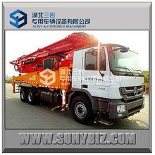 Vendita direttain fabbrica, alta qualità a basso prezzo! Mercedes benz 47 m carro montato pompa per calcestruzzoin vendita