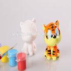 2014 hot sale cute home decoration DIY tiger plaster statues