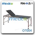 marco de acero inoxidable una función pediátrica examen de mesa ot004