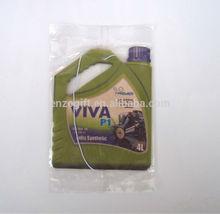 fue bottle car air freshener, MSDS long lasting fragrance paper freshener cards