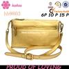 gold bling satchel bag