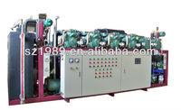 CO2 cascade refrigeration condensing racks