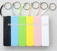 Perfume+keychain USB Portable Power Bank 2600mAh External Backup Battery Charger
