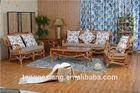 Luxury Chinese style rattan sofa living room furniture