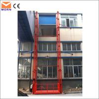 2T capacity wall mounted hydraulic cargo lift table