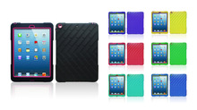 for ipad air hard protector pc silicone robot combo case cover