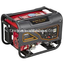 original ZA2500-W 2kw electric start, handles & wheels, low noise, big power, honda engine, negative ion generator