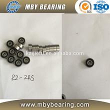 "R2-2RS R2-ZZ 1/8"" Bore Miniature Ball Bearings Radial Ball Bearing"