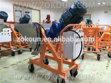 Simple operation, high efficiency cement spray machine