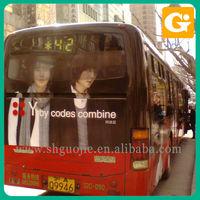 Vinyl Vehicle Sticker Of Star On Bus