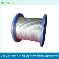 Steel wire rope 7*7 wire rope, galvanized steel wire 1.8mm