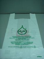 cheaper Environment Friendly t shirt plastic bag